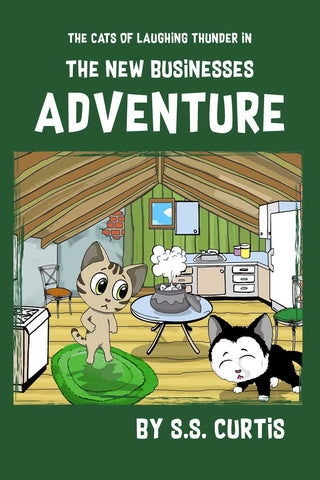 The Cats of Laughing Thunder in The New Businesses Adventure - Audiobook