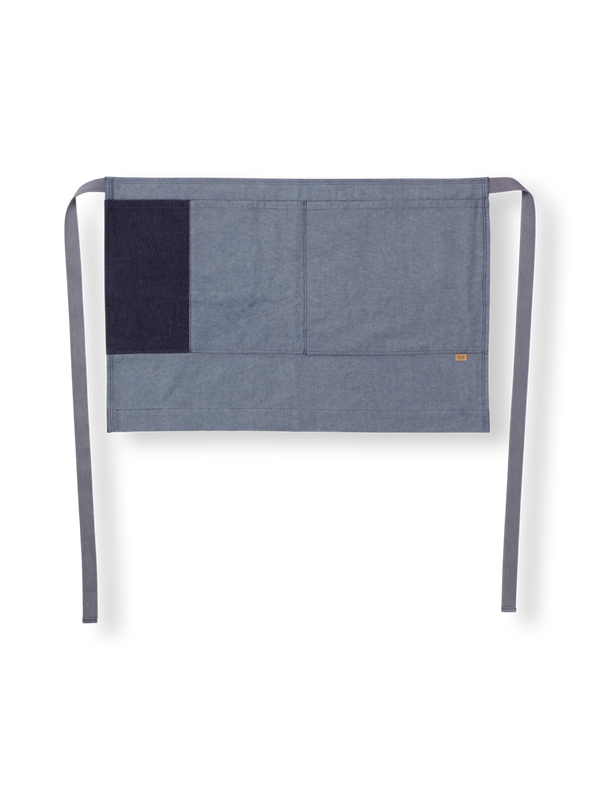 Denim Half Apron - Blue