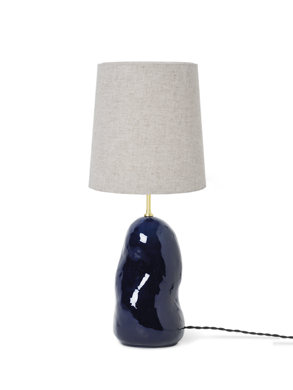 Hebe Lamp Base Medium - Deep Blue