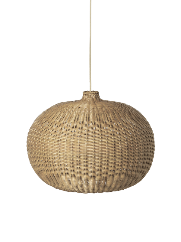 Braided Belly Lamp Shade