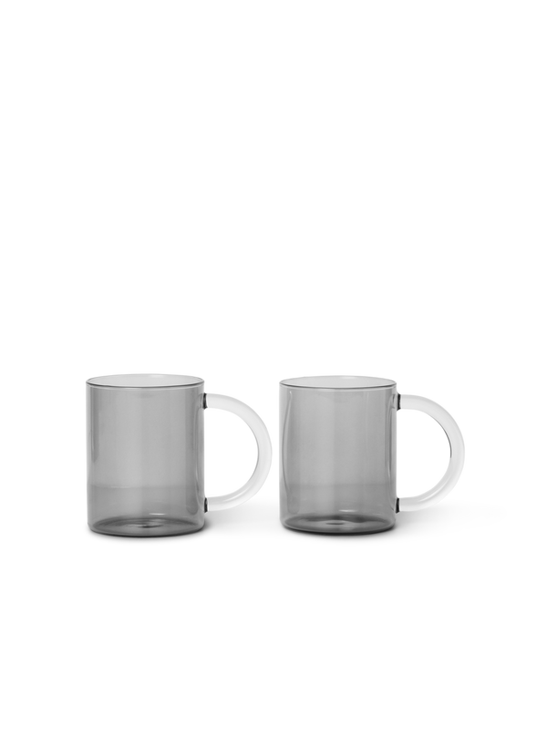 Still Mug - Set of 2 - Smoked Grey