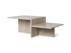 Distinct Coffee Table - Travertine