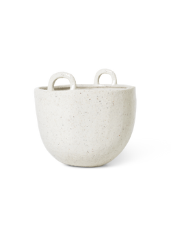 Speckle Pot - Large - Off-White