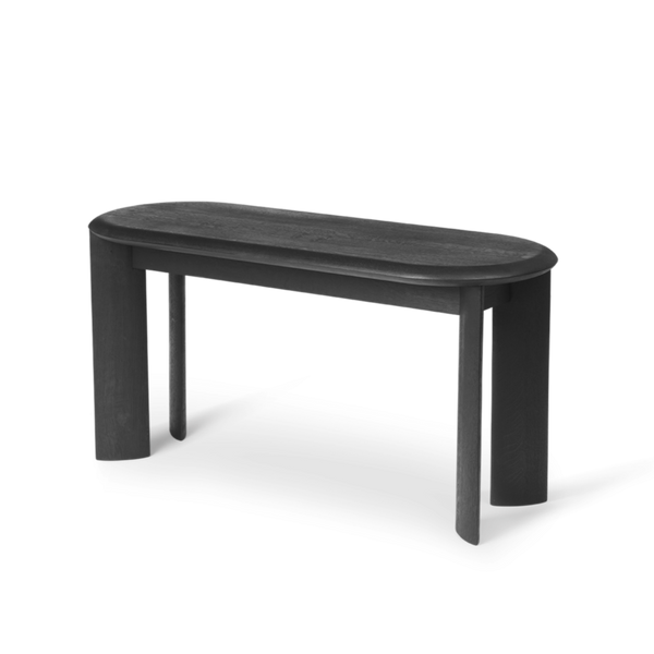 Bevel Bench - Black Oiled Oak