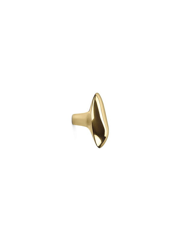 Chanterelle Hook - Brass