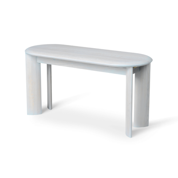 Bevel Bench - Ice Blue