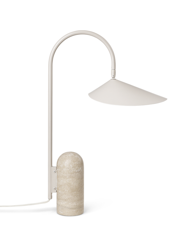 Arum Table Lamp - Cashmere