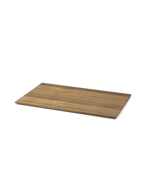 Tray for Plant Box Large - Wood - Smoked