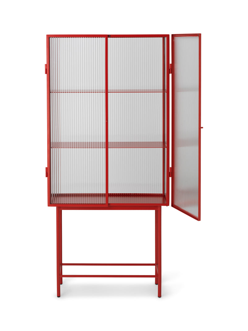 Haze Vitrine - Poppy Red