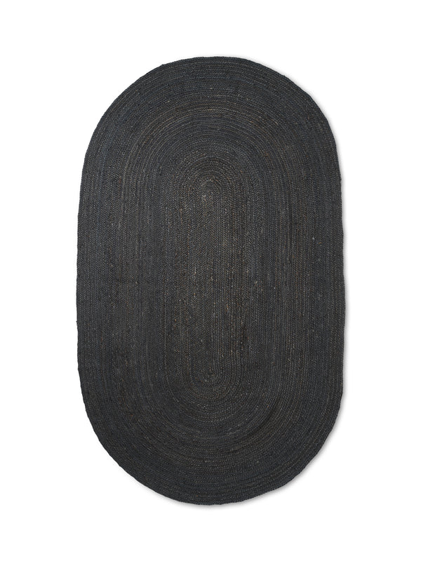 Eternal Oval Jute Rug - Large