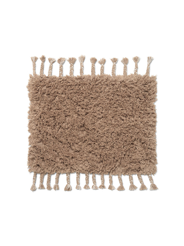Amass Long Pile Mat - White Pepper