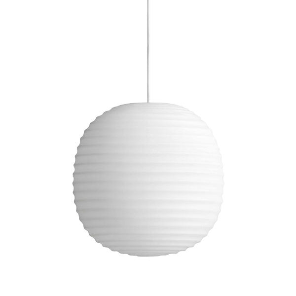 Lantern Pendant - White Small