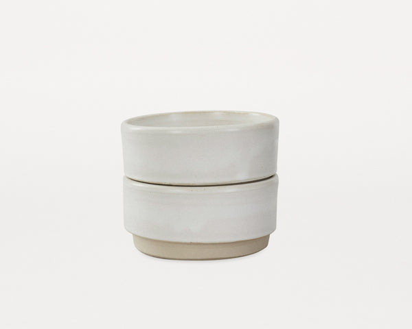 Otto Bowls White (M) - Set of two