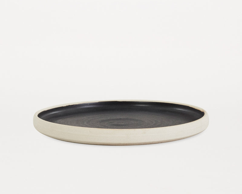 Otto Plate Black (S) - Set of two