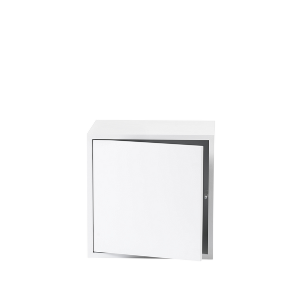 Stacked Storage System - Medium - White - Door