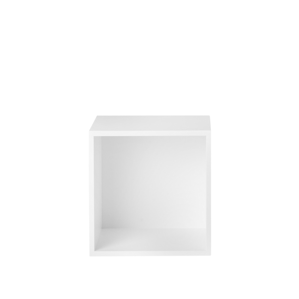 Stacked Storage System - Medium - White - Solid Back