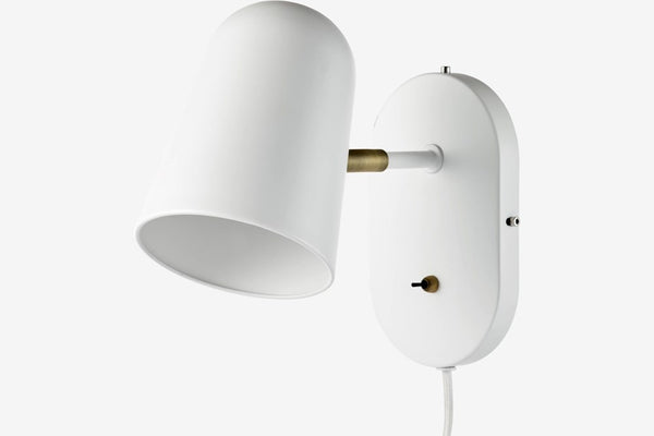 Bureau Wall lamp - Matt white