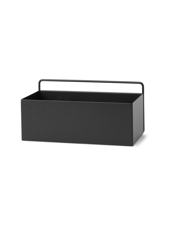 Wall Box - Rectangle - Black