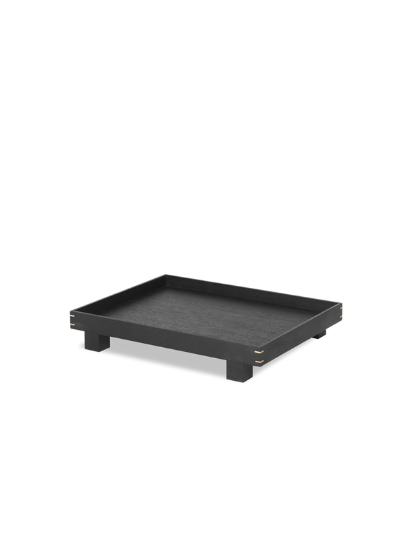 Bon Wooden Tray Small - Black