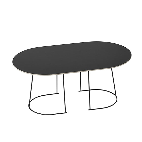 Airy Coffee table - Medium Black