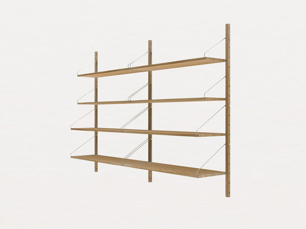 Shelf Library H1148 | Double Section