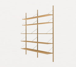 Shelf Library H1852 | Double Section