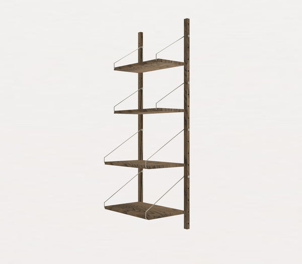 Shelf Library Dark H1148 | W40 Section