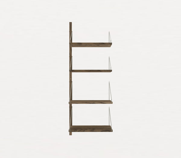 Shelf Library Dark H1148 | Extra W40 Section