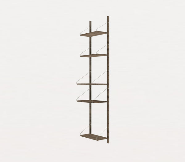 Shelf Library Dark H1852 | W40 Section