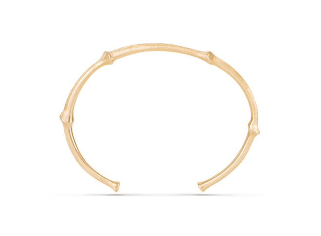 Nature bracelet in 18K yellow gold