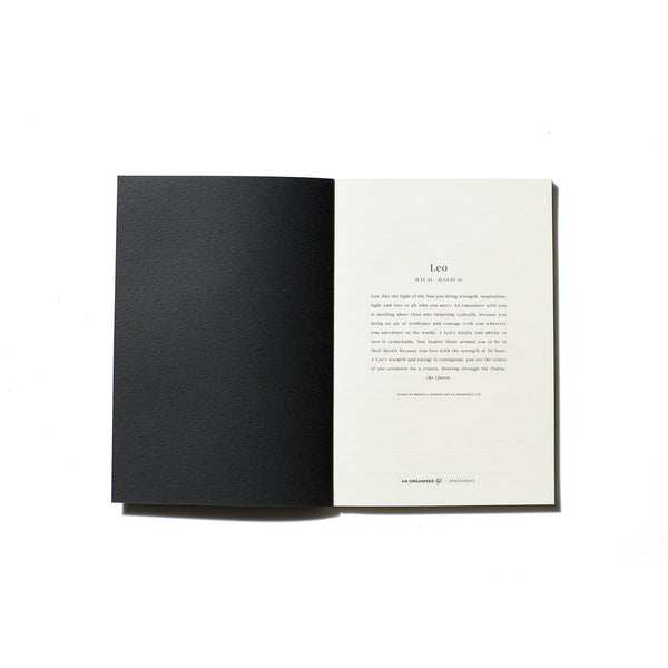 Leo Zodiac Notebook