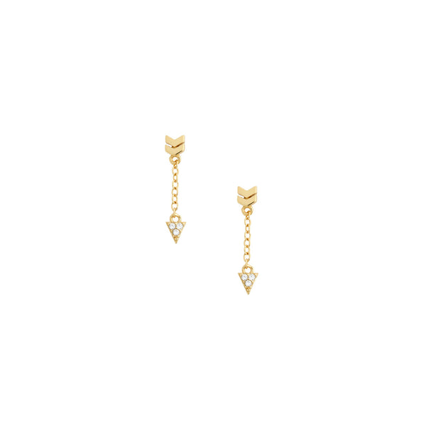 Arrow Drop Earring