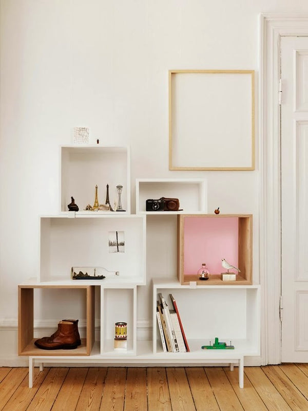 Stacked Storage System - Podium - White