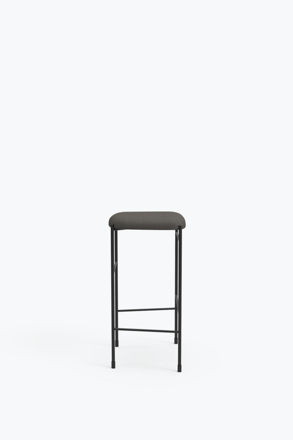 Covent Bar Stool 65 - Light Grey