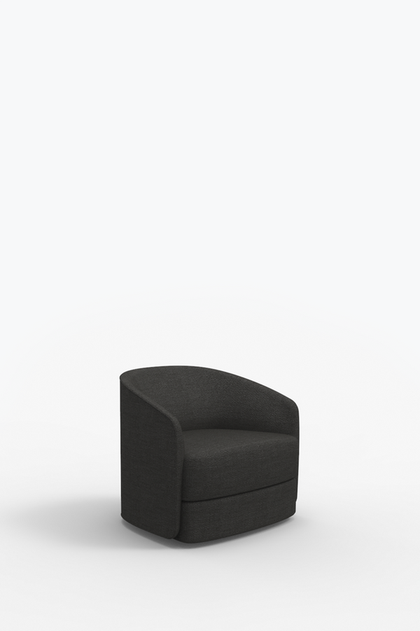 Covent Lounge Chair - Dark Grey