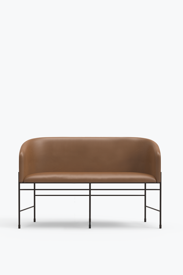 Covent Love Seater - Cognac