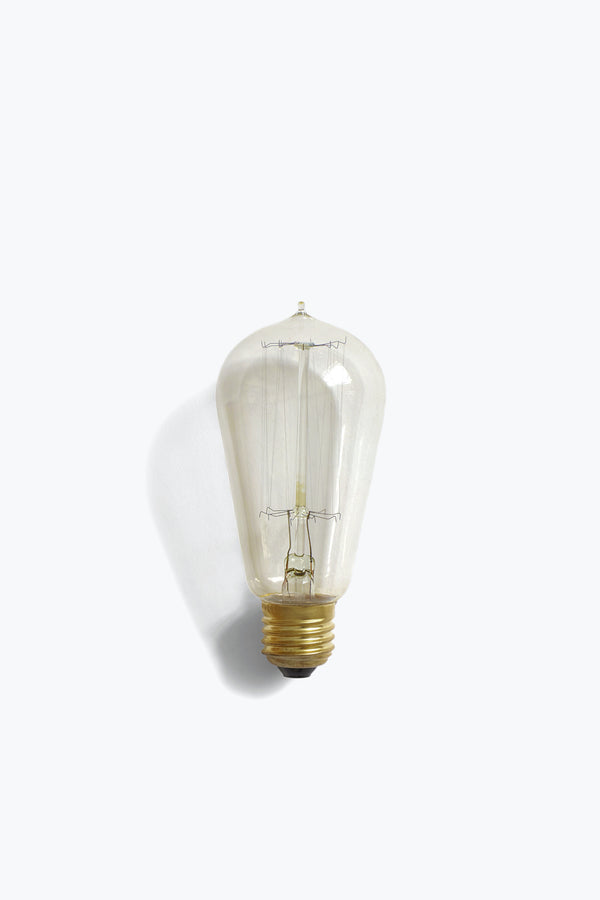 Edison Antique Light Bulb Ideal for Bowl Table Lamp -