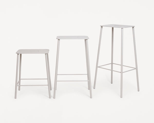 Adam Stool Mono | Grey | H50