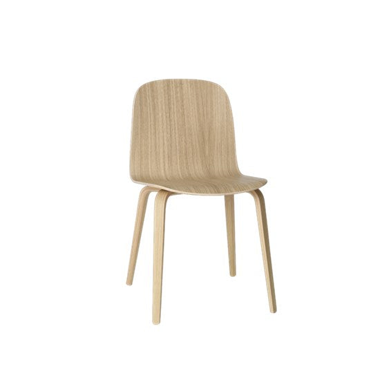 Visu Chair - Wood Base - Oak/Oak