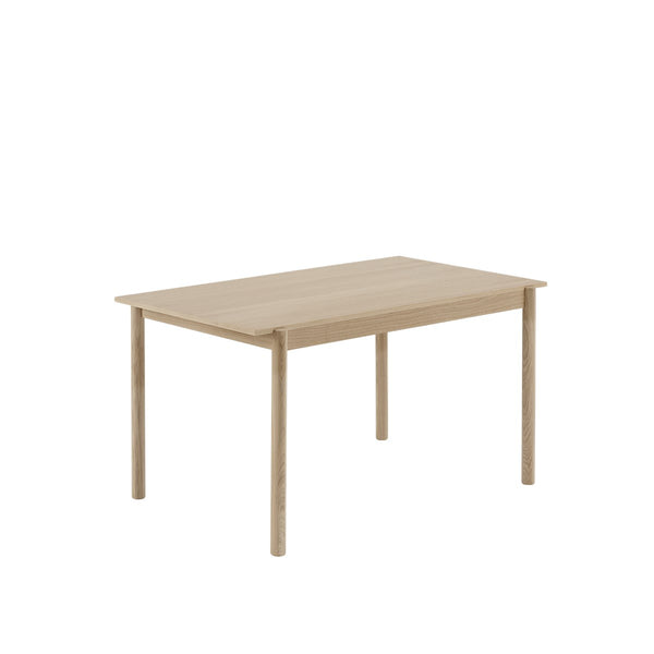 LINEAR WOOD TABLE / 140 X 85 CM  - Oak