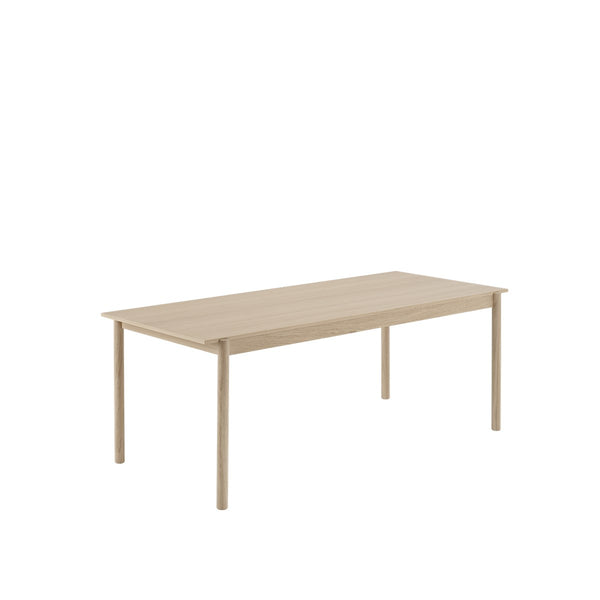 LINEAR WOOD TABLE / 200 X 90 CM  - Oak