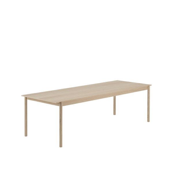 LINEAR WOOD TABLE / 260 X 90CM  - Oak