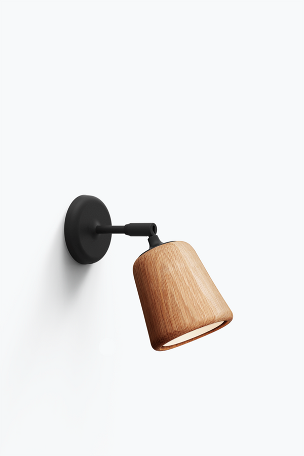 Material Wall Lamp - Natural Oak