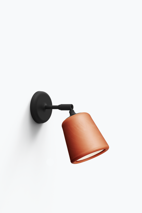 Material Wall Lamp - Terracotta