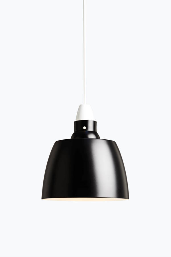 Hang On Honey Pendant - Jet Black