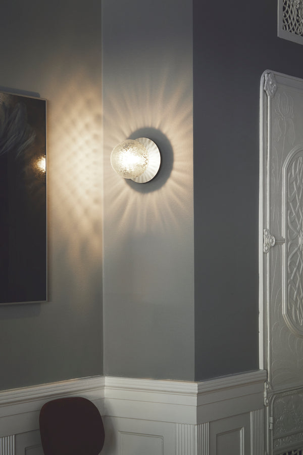 Liila 1 Wall/Ceiling Silver Clear