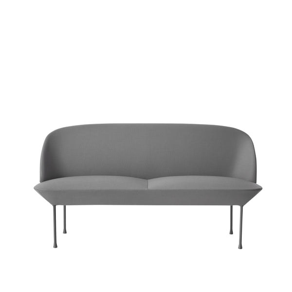 Oslo Sofa - 2 Seater - Fjord 151 - Light Grey