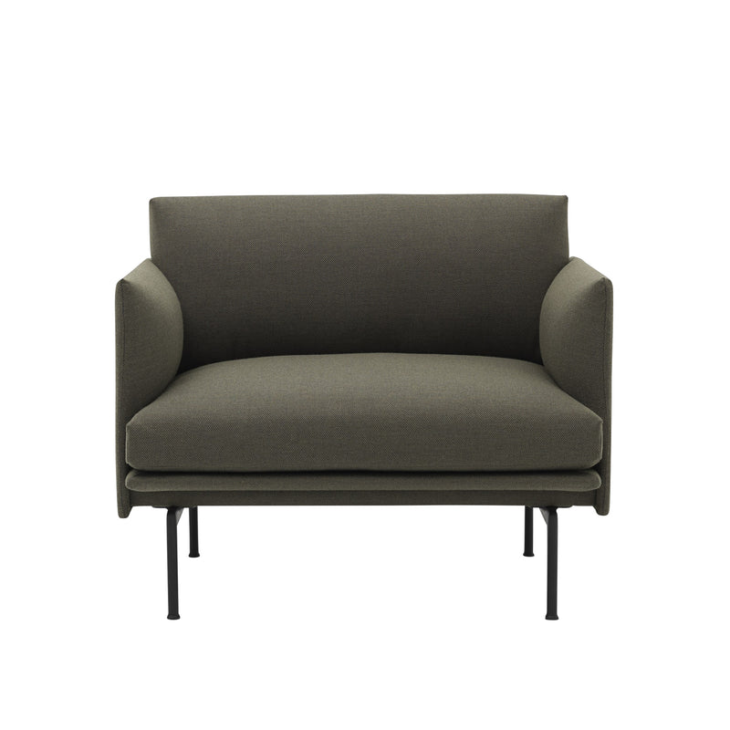 Outline Chair - Dark Green