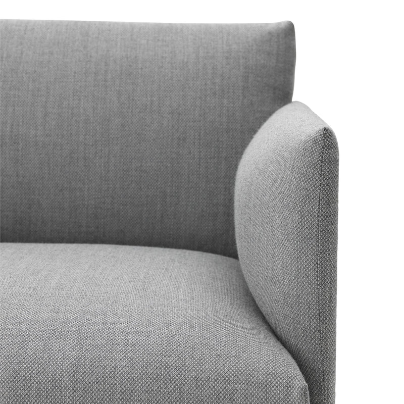 Outline Sofa 2 Seater - Light Grey