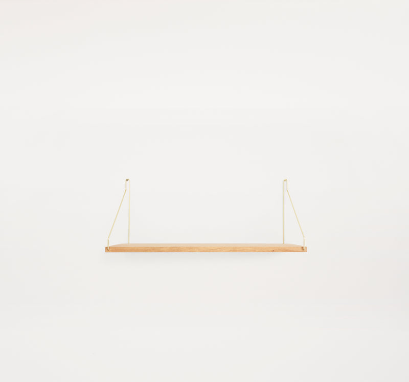 Shelf D27 W60 Brass